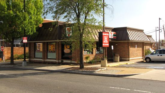 This 7-Eleven on Benning Road NE is housed in a former KFC.