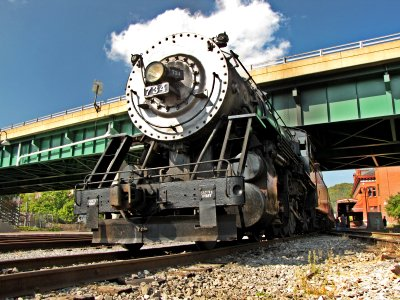 Western Maryland Scenic Railroad locomotive #734