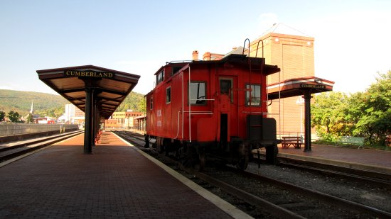 Station for the Western Maryland Scenic Railroad, built in 1913.