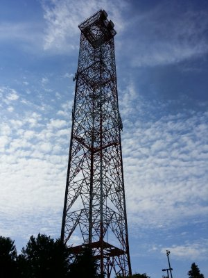 Tower on AT&T campus near Finksburg