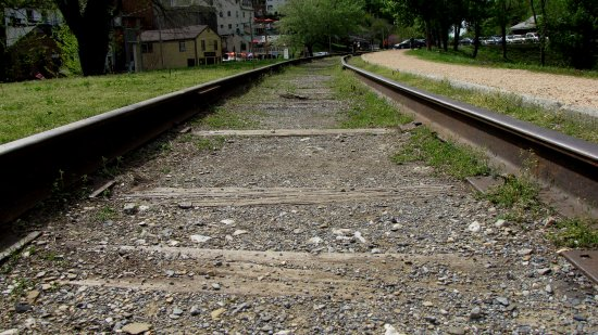 Abandoned track in Harpers Ferry