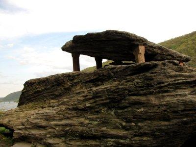 Jefferson Rock itself
