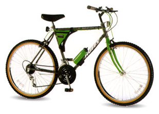 A Huffy Stone Mountain bicycle