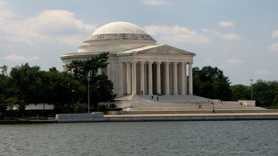 The Jefferson Memorial.