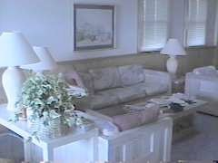 The living room at Park Place, from 1997.