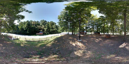 Photo sphere of the westbound I-64 rest area near Ivy