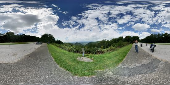 Buena Vista overlook on the Blue Ridge Parkway