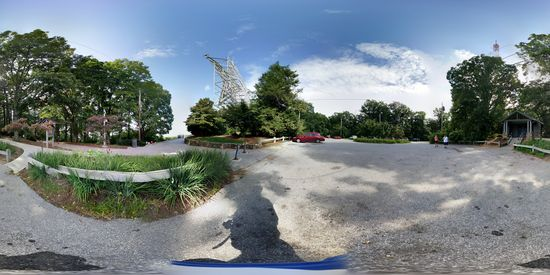 Parking area at the Roanoke Star