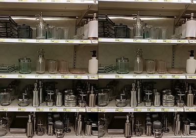The non-foaming soap pumps at Target