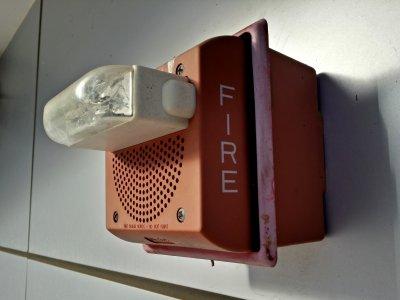 Wheelock speaker/strobe