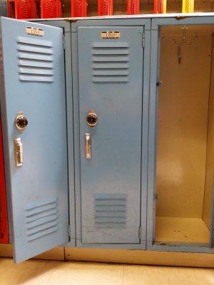 My old seventh grade locker