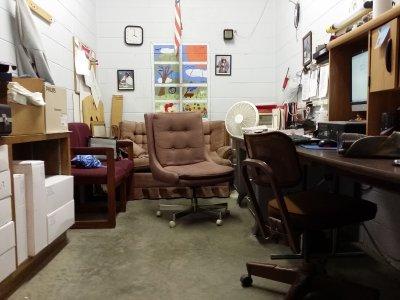 The custodians' office