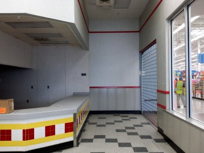 The now-former McDonald's in my ex-store