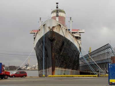 The SS United States in Philadelphia