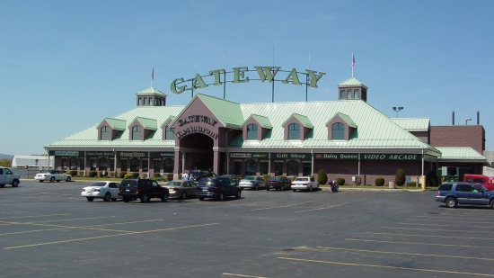 Gateway Travel Plaza, one of two truck stops in Breezewood.