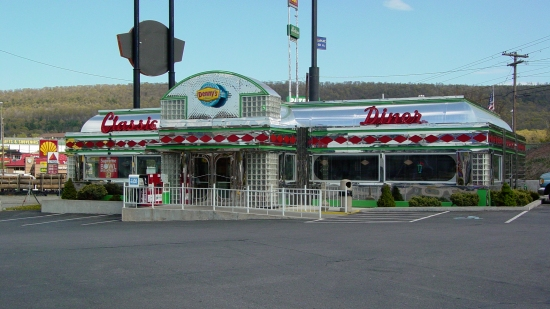 "Denny's ""Classic Diner""."