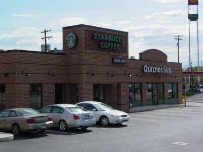 The Starbucks in Breezewood, where the staff graciously allowed me to park for the several hours that I spent shooting this set.