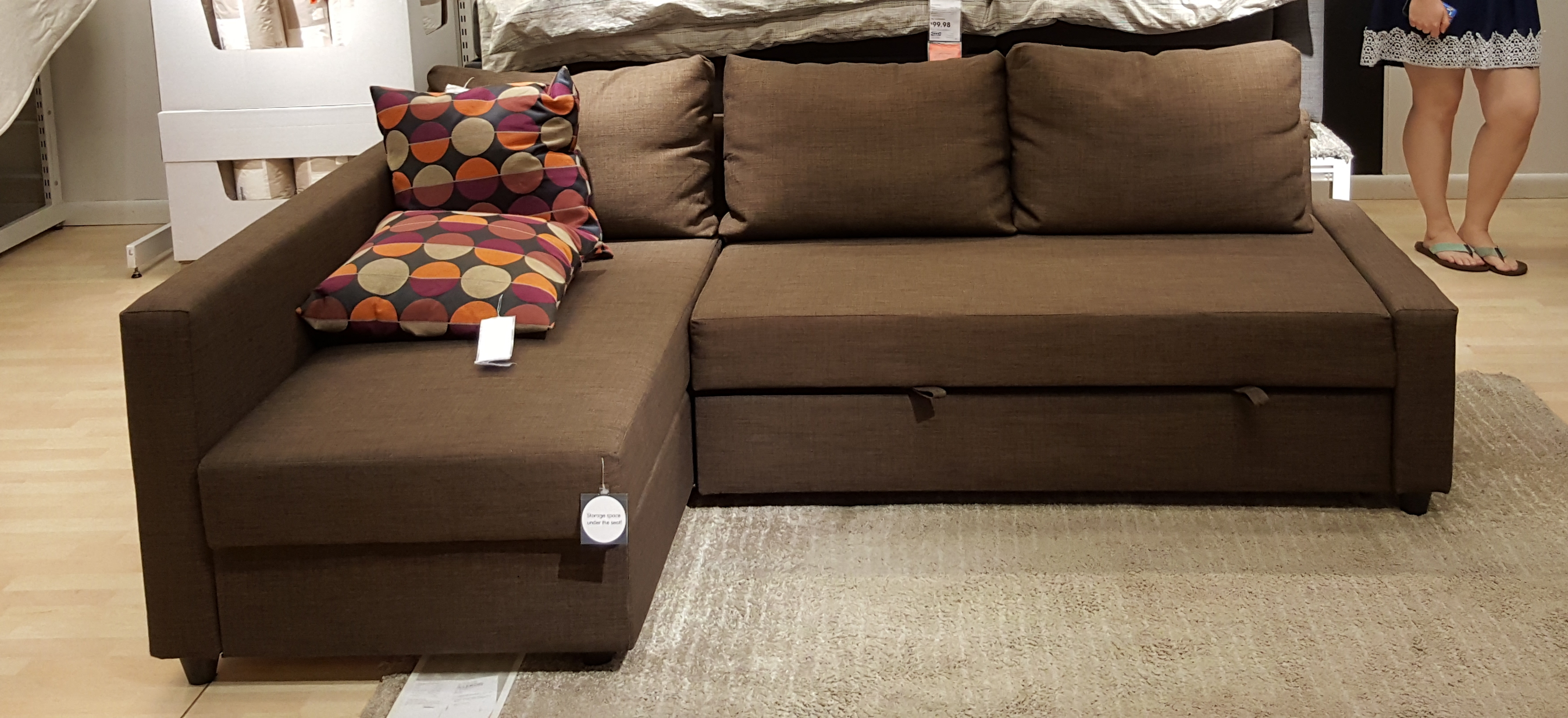 Ikea schlafcouch friheten  The Schumin Web » New couch!