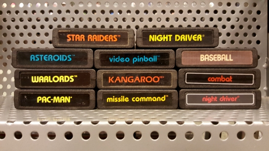 Atari 2600 cartridges!
