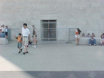 Entrance to the Washington Monument