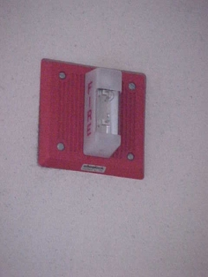 Lincoln Memorial fire alarm notification appliance