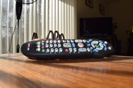 I guess it's fitting that I used the phone's remote control app to take a photo of... a remote control.