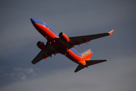 N7812G, a Boeing 737-76N operated by Southwest Airlines.