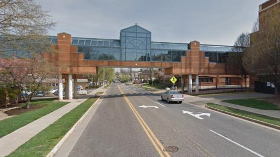 RMH skywalk from Google Street View, circa 2012
