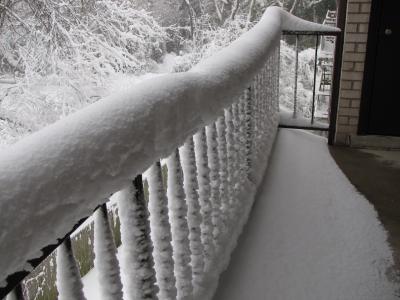 Snowmageddon's reach.