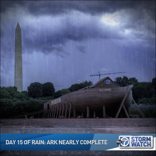 DAY 15 OF RAIN: ARK NEARLY COMPLETE