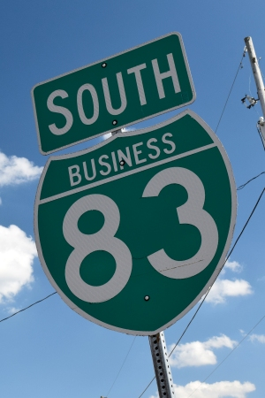 "Interstate 83 business loop shield, without ""LOOP"" text"