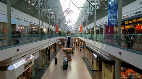 York Galleria, photographed from the Sears end