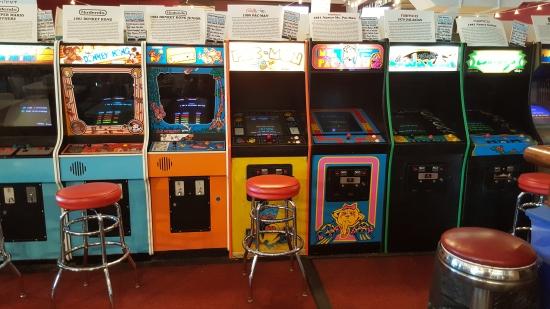 Vintage video games!