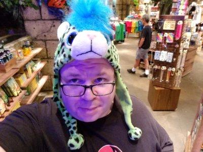 Leopard hat!