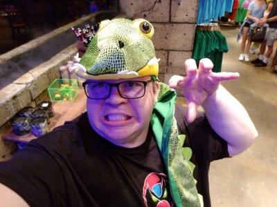 Lizard hat!