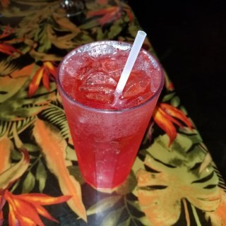 Yes, I really did order a Shirley Temple for myself.