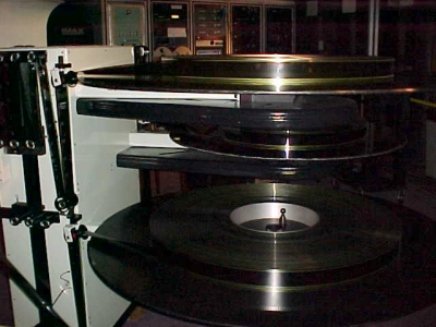 Reels of IMAX film, in 2002