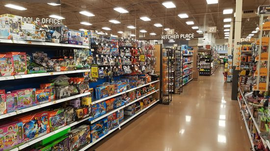 Toy department.