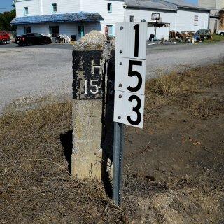 Milepost 153