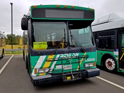 Ride On 5909, an Orion VII CNG.