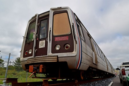WMATA railcar 4020, now being used for first responder training