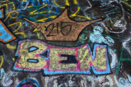 """Ben"". Based on the 215 above, I imagine that this tagger is from Philadelphia."