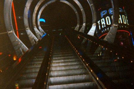 The rocket escalator