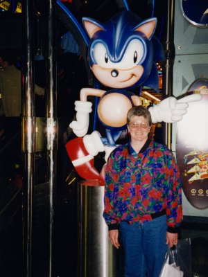 Mom and Sonic the Hedgehog