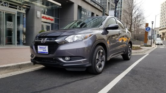 My new car, a Honda HR-V