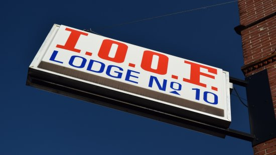 Independent Order of Odd Fellows, lodge number 10