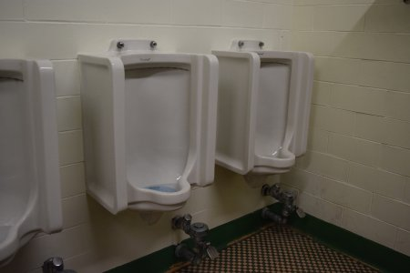 Urinals in Armstrong Hall