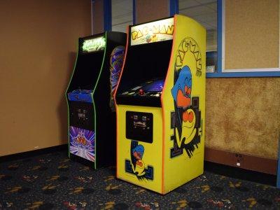 Pacman and Galaga