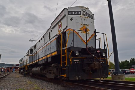 Delaware Lackawanna locomotive 2423.