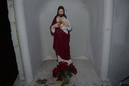 Statue of Jesus.